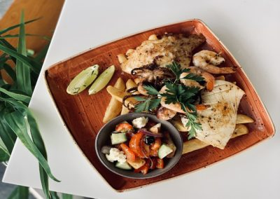 Grilled Seafood Plate