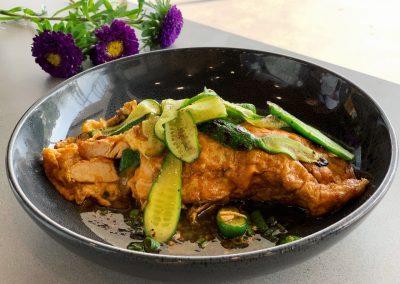 Chicken-Omelette